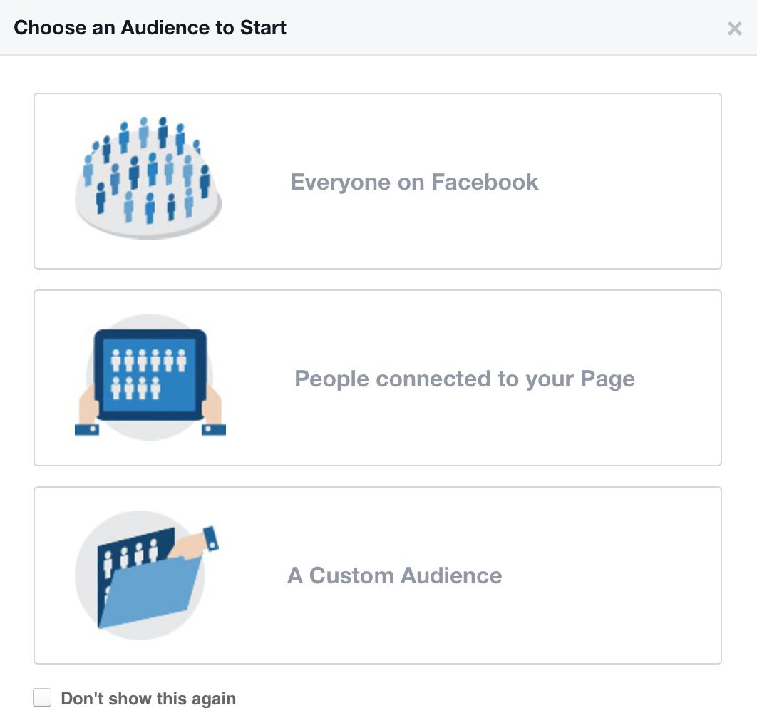 Dove trovare Facebook Aufience Insights