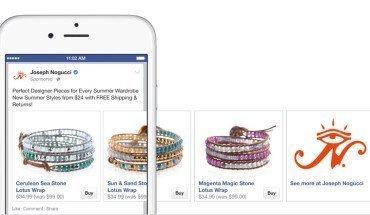 shopify tasto acquista ora per facebook ads