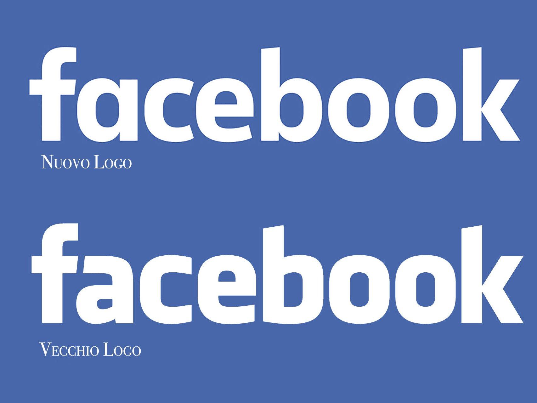 Facebook Presenta il nuovo logo
