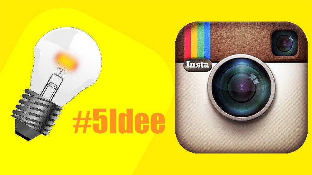 5 facili idee per movimentare la tua pagina Instagram
