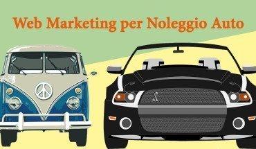 web marketing noleggio auto