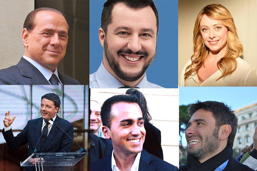 I politici italiani pi seguiti sui social network web for Tutti i politici italiani
