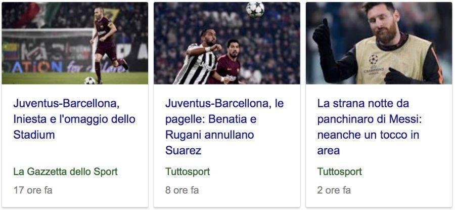 google news barcellona