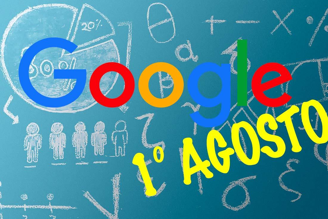 google update 1 agosto