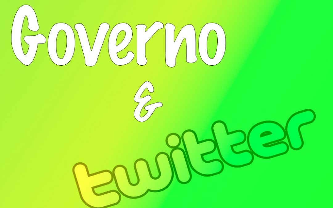 I profili Twitter del Governo Lega-5 stelle