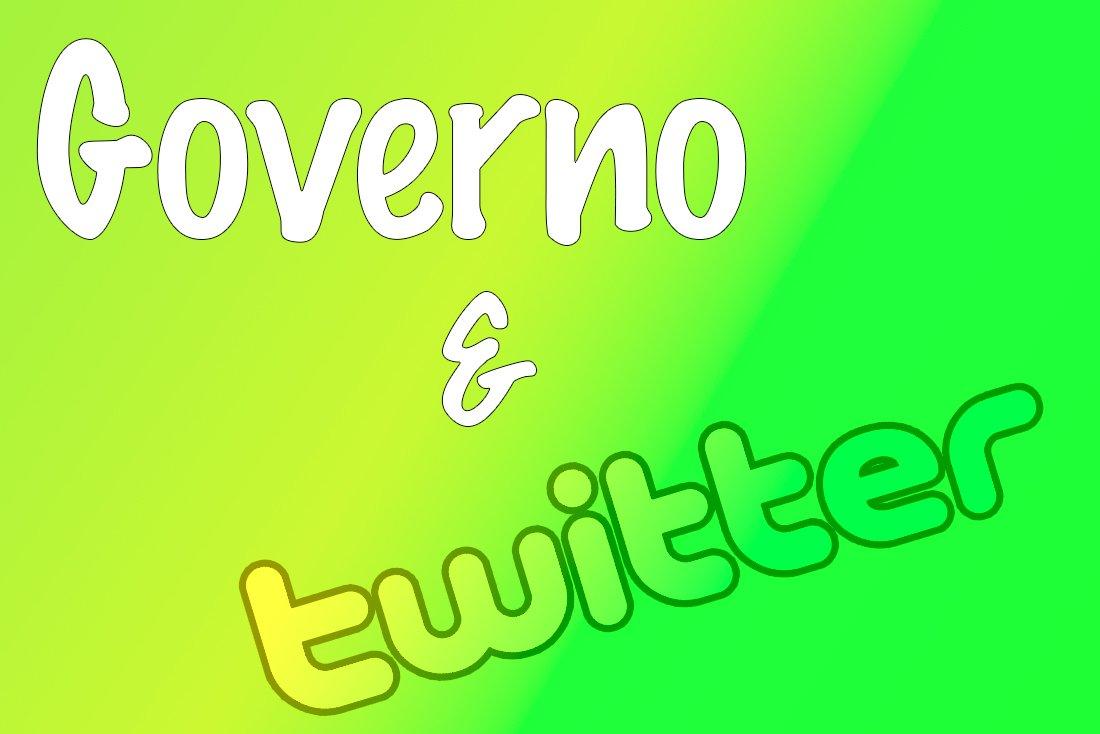 governo giallo verde e twitter