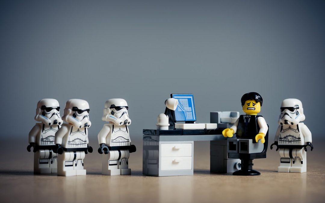 star wars in ufficio