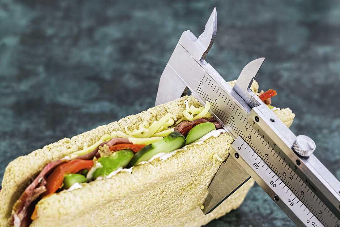 misurare panino