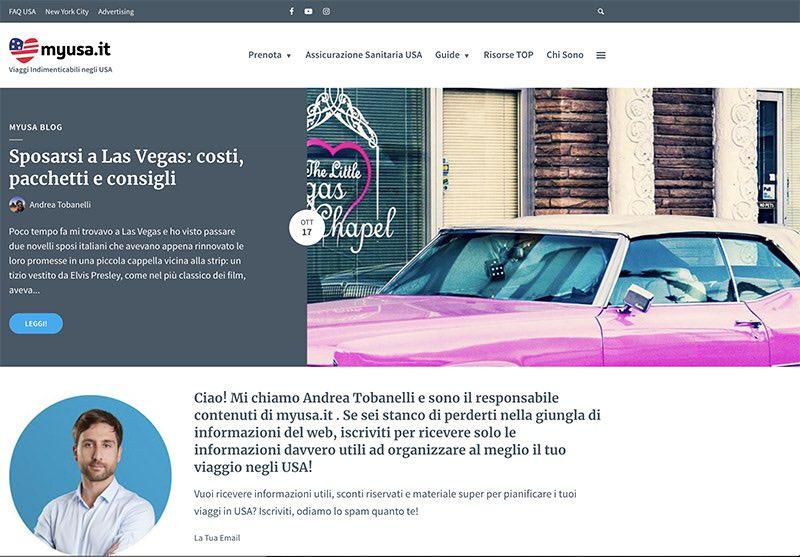 my usa home page