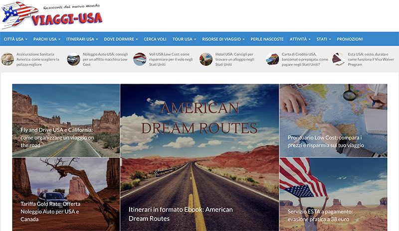 viaggi usa home page