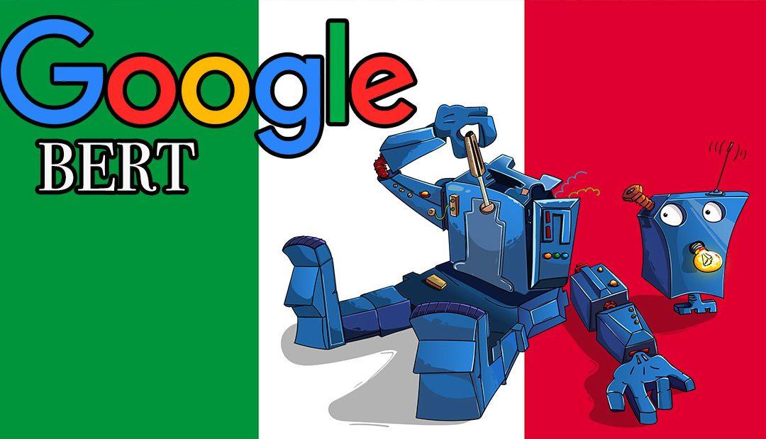 Google Bert arriva in Italia