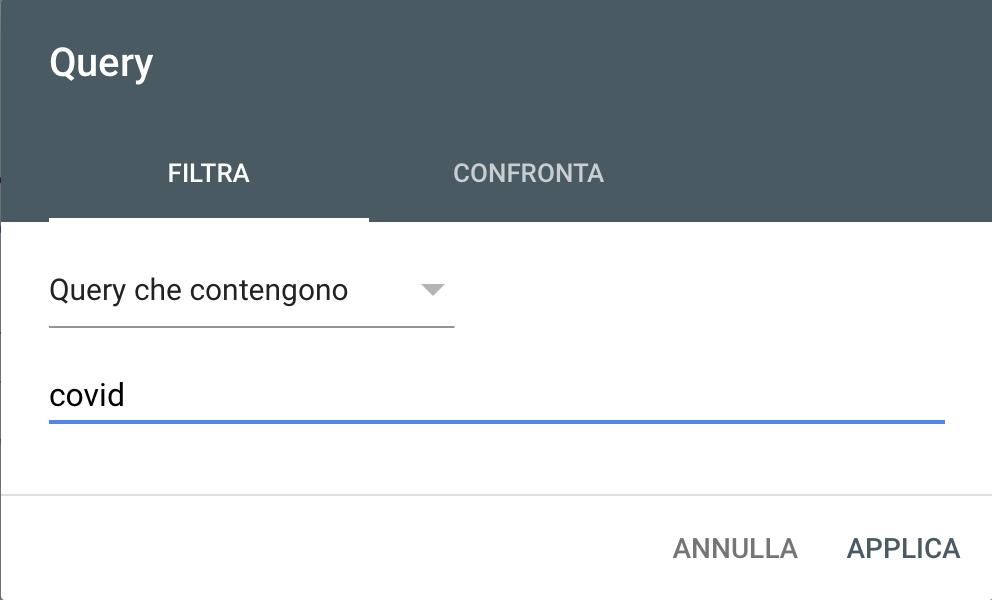 search console covid