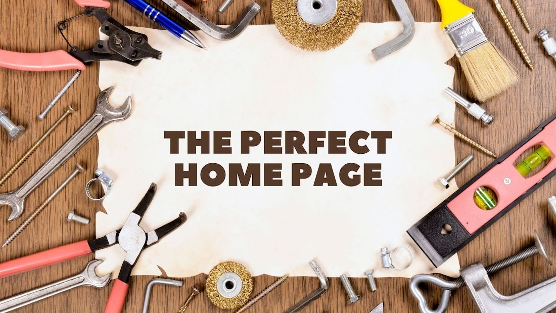 perfect home page